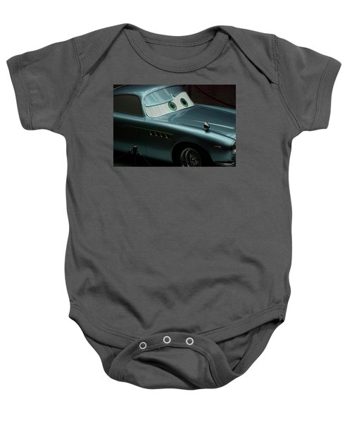 Green Eyed Finn Mcmissile Mp Baby Onesie