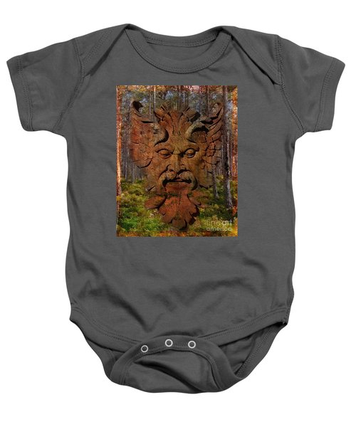 Green Man Of The Forest 2016 Baby Onesie