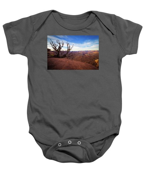 Green River Overlook Baby Onesie