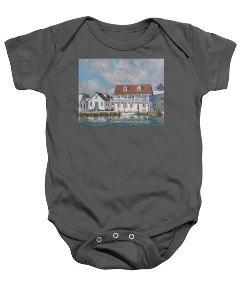 Green Turtle Cay Past And Present Baby Onesie