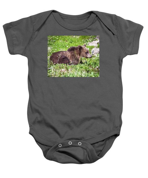 Grizzly Cub  Baby Onesie