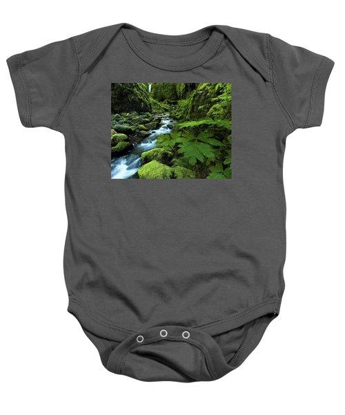 Grotto Falls Baby Onesie