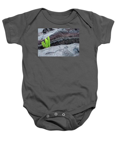 Grow Where You Are Planted Baby Onesie