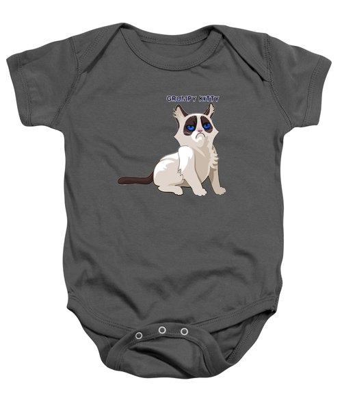 Grumpy Cat Baby Onesie