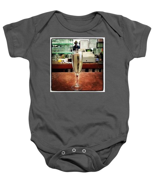 Baby Onesie featuring the photograph Guess What Guess Where? by Mr Photojimsf