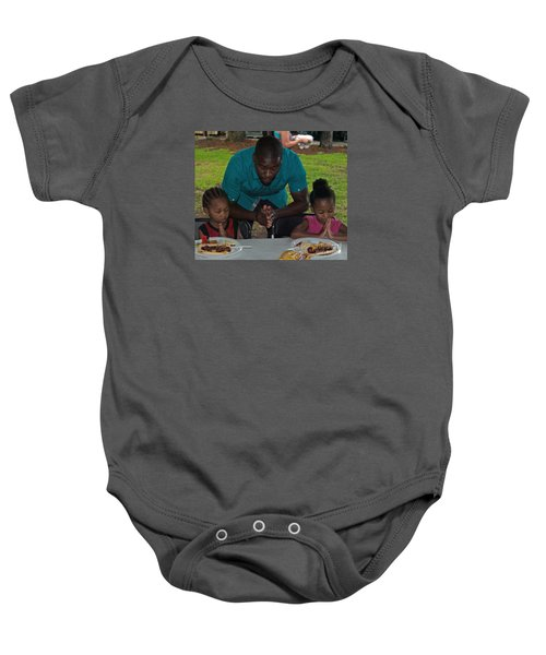 Guest Family Praying Baby Onesie