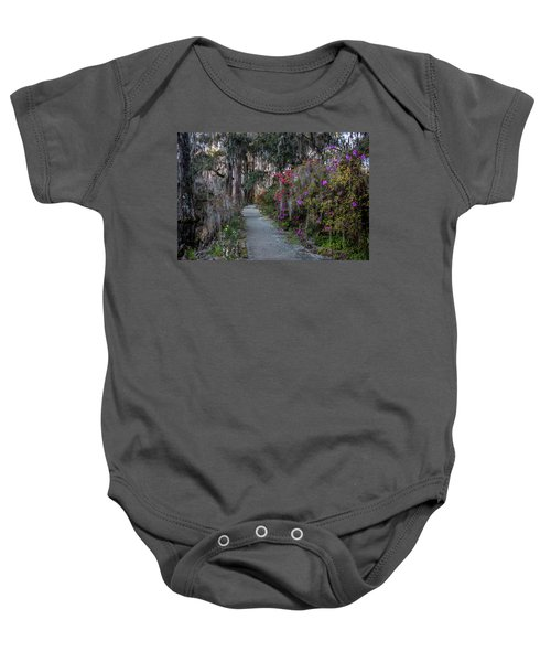 Guide Our Feet Into The Path Of Peace. Luke 1.79  Baby Onesie