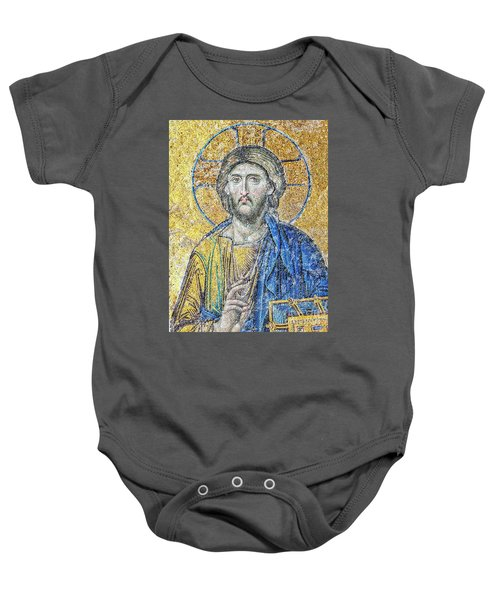 Hagia Sofia Christ Final Baby Onesie