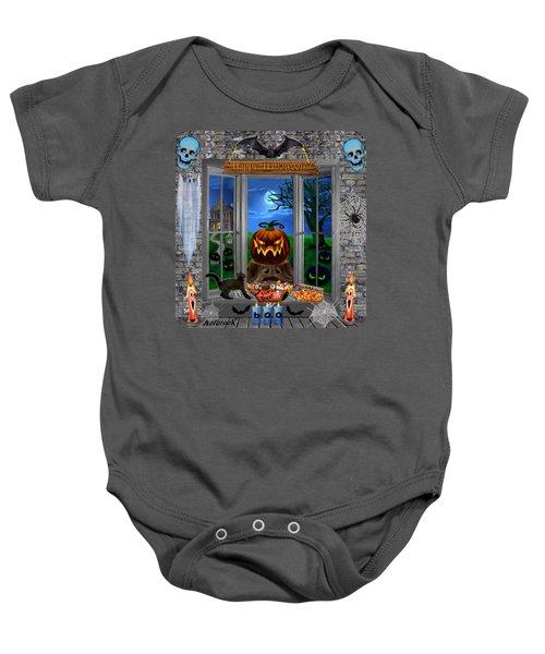 Halloween Night Stalker Baby Onesie