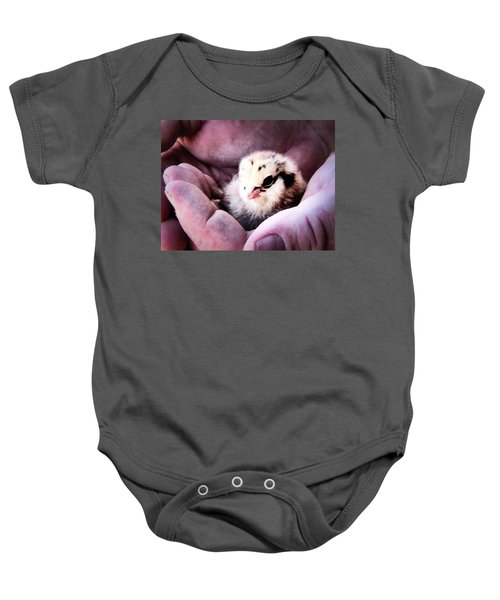 Handle With Care Baby Onesie