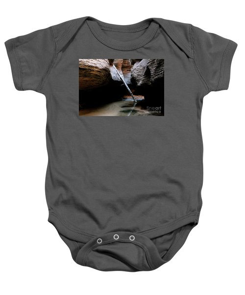 Hanging By A Moment Baby Onesie