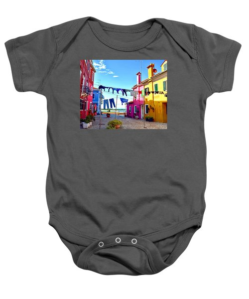 Hung Out To Dry Baby Onesie