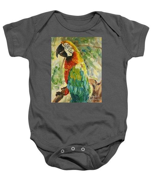 Happy Parrot Baby Onesie