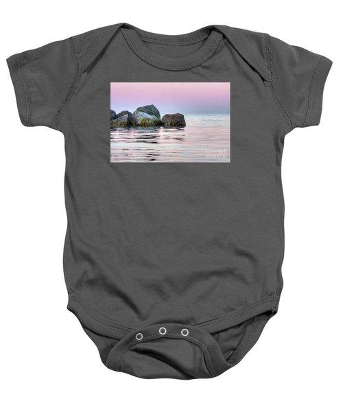 Harbor Breakwater Baby Onesie