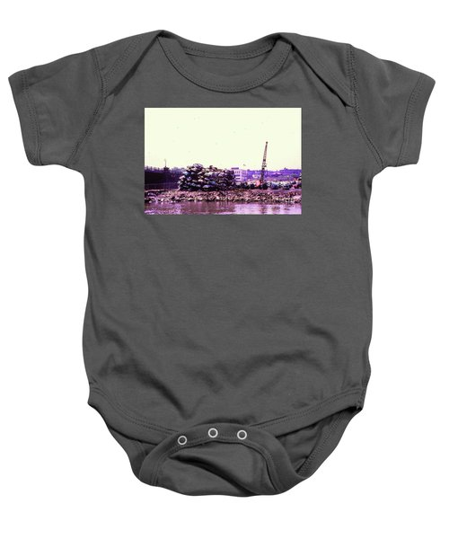 Harlem River Junkyard Baby Onesie by Cole Thompson
