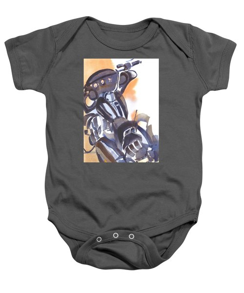Motorcycle Iv Baby Onesie