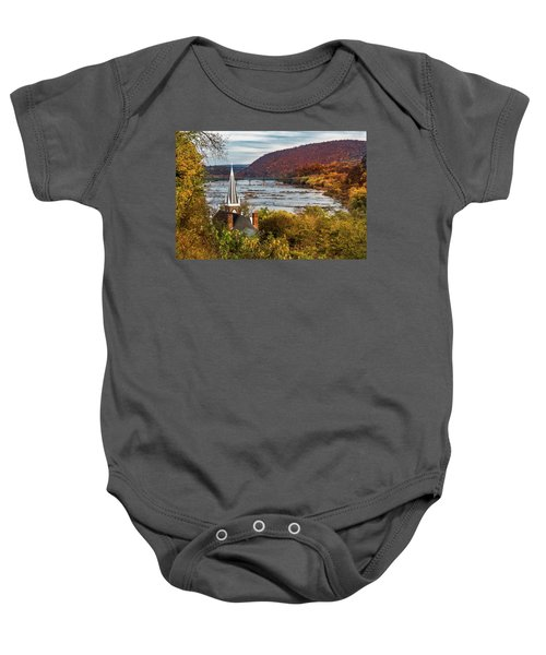 Harpers Ferry, West Virginia Baby Onesie