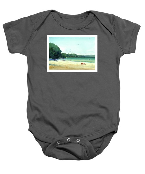 Harrington Beach, Wisconsin Baby Onesie