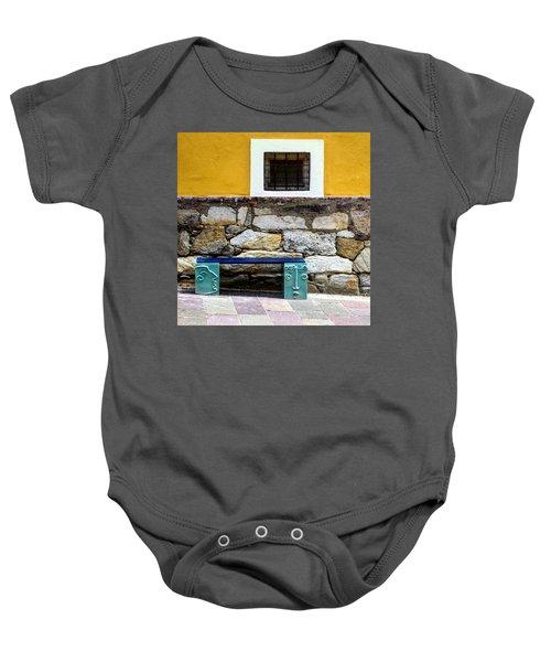 Hartberg Bench Baby Onesie