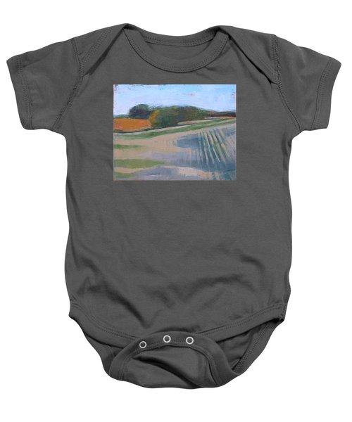 Harvest Fields Baby Onesie