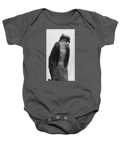 Hawk Perched Baby Onesie