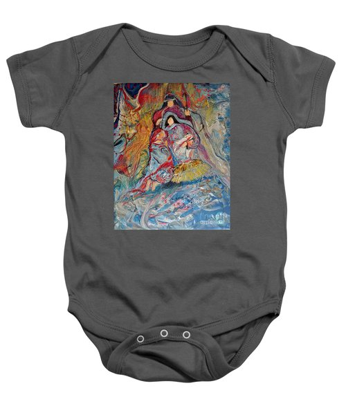 He Dwelt Among Us Baby Onesie
