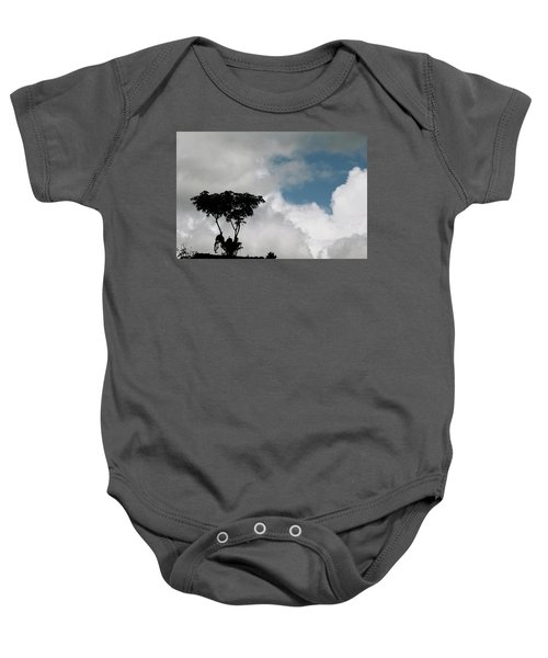Heart In The Clouds Baby Onesie