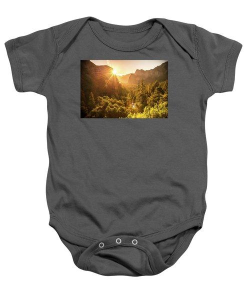 Heavenly Valley Baby Onesie