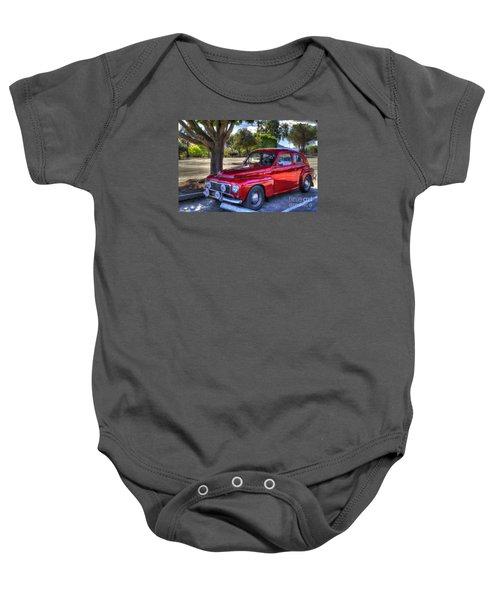 Hella Volvo Baby Onesie
