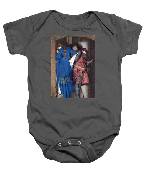 Hellelil And Hildebrand Or The Meeting On The Turret Stairs Baby Onesie