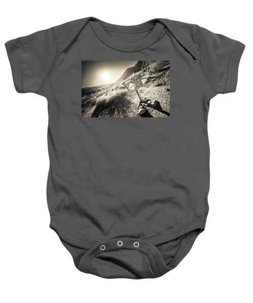 Hellhole Canyon Warning Baby Onesie