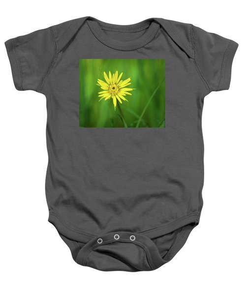 Baby Onesie featuring the photograph Hello Wild Yellow by Bill Pevlor