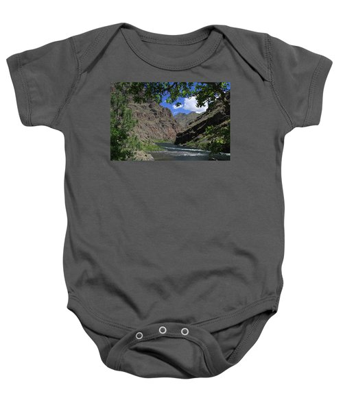 Hells Canyon Snake River Baby Onesie