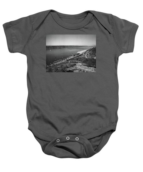 Henry Hudson Parkway, 1936 Baby Onesie by Cole Thompson