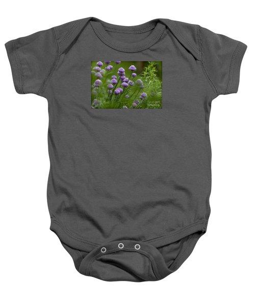 Herb Garden. Baby Onesie