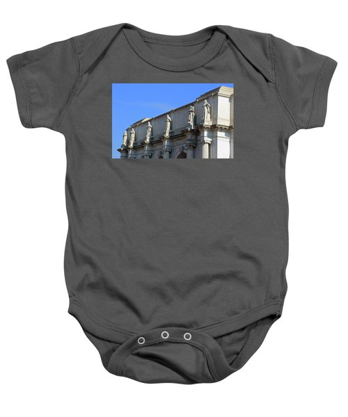 Hey Is That Joe Biden One Statue Said To Another At Union Station Baby Onesie