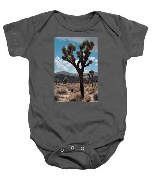 Hidden Valley Joshua Tree Portrait Baby Onesie