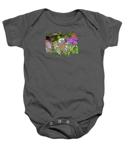Hiding In The Garden Baby Onesie