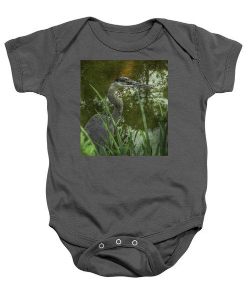Hiding In The Grass Baby Onesie
