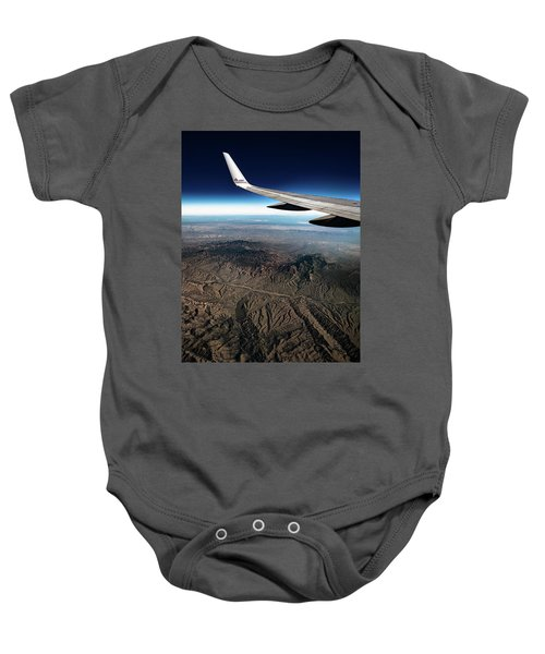 High Desert From High Above Baby Onesie