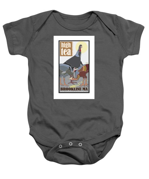 High Tea Baby Onesie