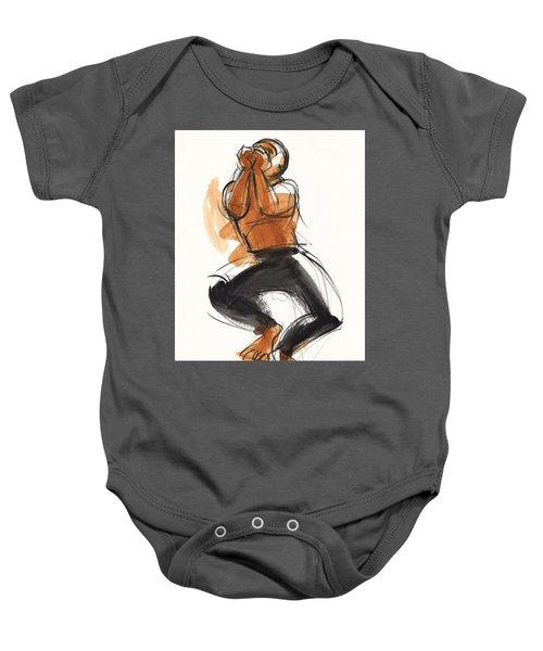 Hiphop Dancer Baby Onesie