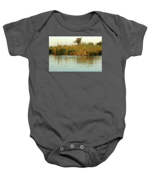 Hippos, South Africa Baby Onesie