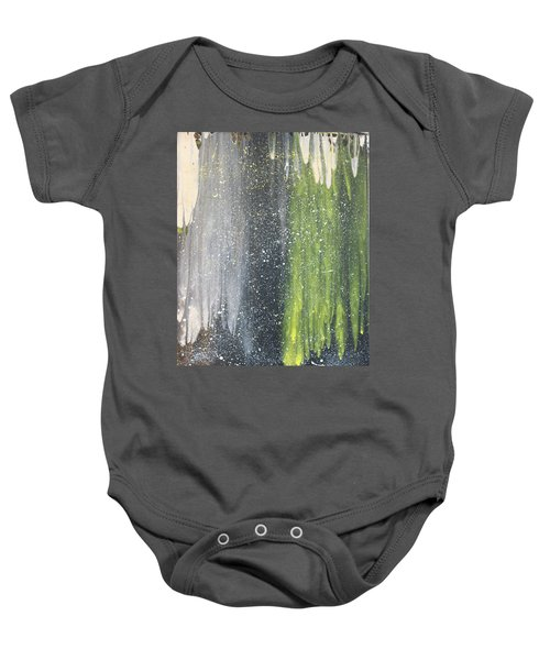 His World Baby Onesie by Cyrionna The Cyerial Artist