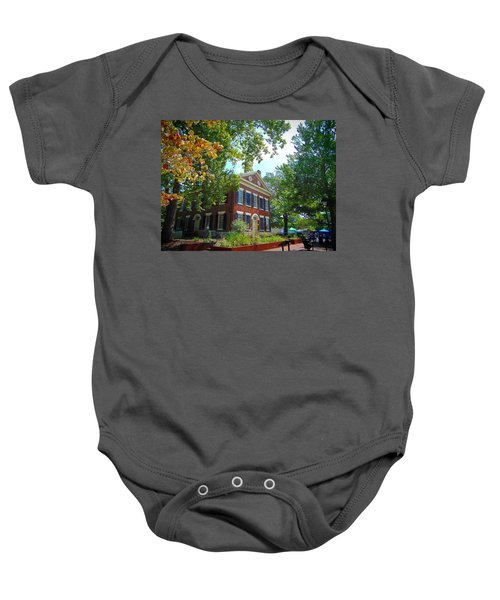 Historic Dahlonega Georgia Courthouse Baby Onesie