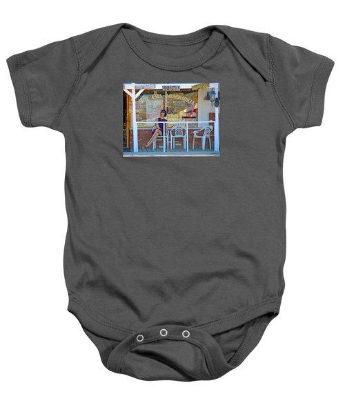Historic Route 66 Memorabilia Baby Onesie