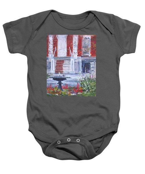 Historical Society Garden Baby Onesie