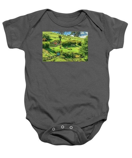 Hobbit Hills Baby Onesie