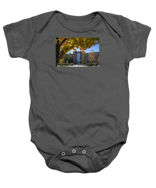 Holden Hall Cropped  Baby Onesie