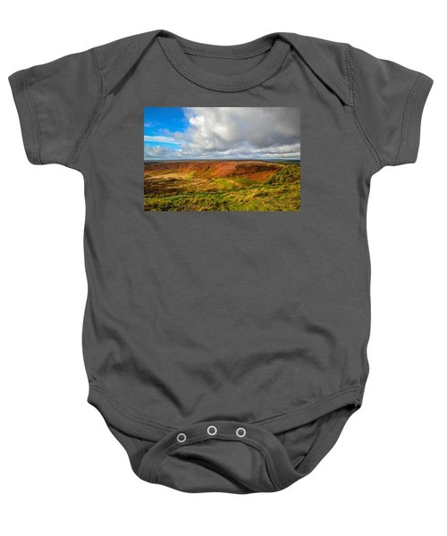 Hole Of Horcum, North York Mores, Yorkshire, United Kingdom Baby Onesie